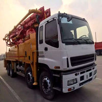 Top quality 37m putzmeister Pump truck with good price