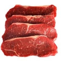 Indian Frozen Halal Boneless Buffalo Meat , Thick Flank Top Side/ Rump Steak/ Silver Side/ Striploin/ Chuck Tender/ FQ/ Blade.