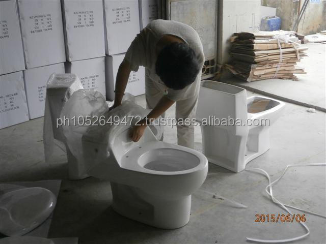 Western Toilet Bowl / Western Pottery During Production (DuPro) Inspection in China