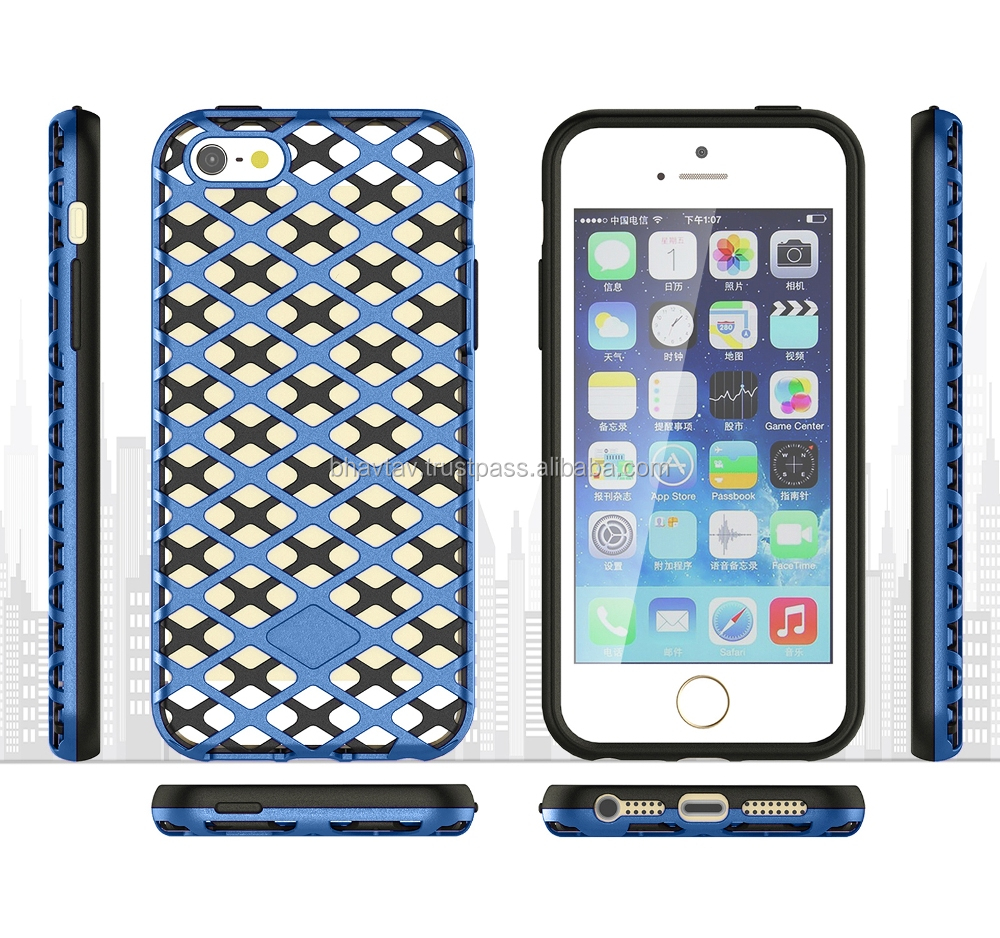 Cubix Hollow mesh case back Cover for Apple IPhone 6s