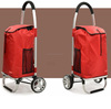 PERFECT FINISH FOLDING SHOPPING TROLLEY BAG(2 WHEELS)