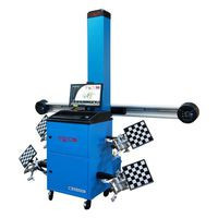 Wheel aligner, adjustable cameras, 3D imaging technology