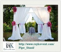 Hot sale event wedding aluminum backdrop stand pipe drape