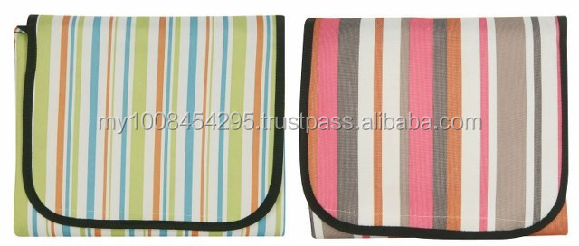 41420 Stripes Foldable Mat ( promotional gift, corporate gift, premium gift, souvenir )