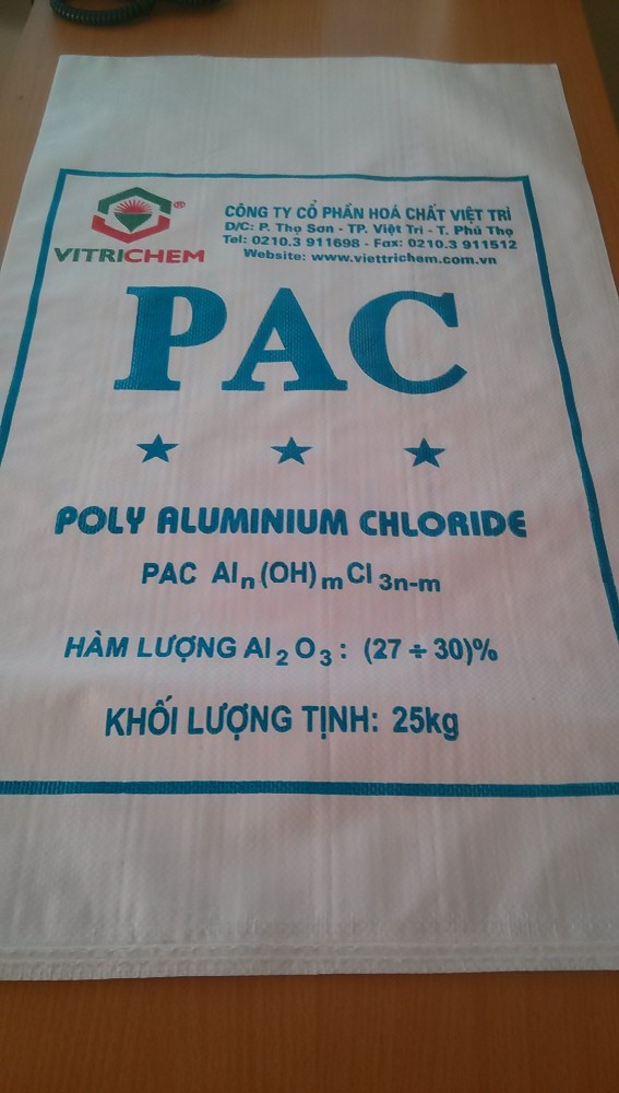 PE Woven fabric 500 x 850mm for fertilizer 25kg