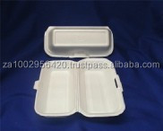 Polystyrene foam box - size 4 for Hotdog