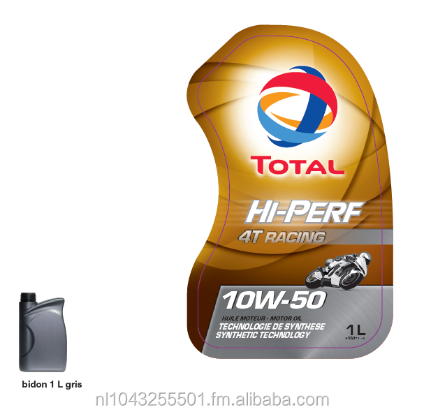 Total HIGH PERFORMANCE RACING 4T 10W50