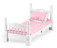 Wooden Doll Bed double designs for apartments wood modern