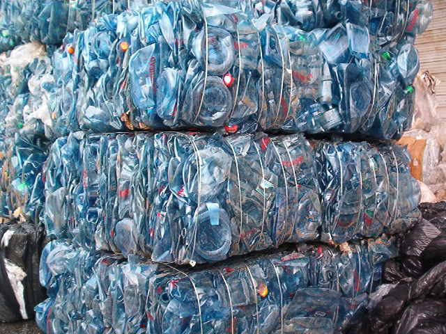 PET Bottle Scrap In Bales
