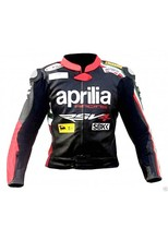Pakistan Produces Aprilia leather biker jacket