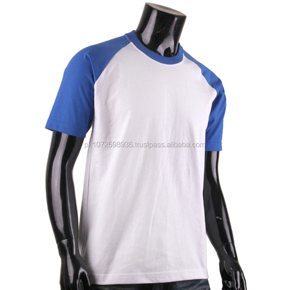sports raglan short sleeve loose fit sports t shirt/ round neck gym men slim fit plain raglan sleeve tee