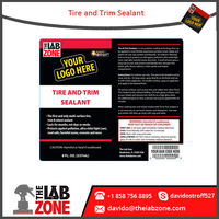 Tire and Trim Sealant for surface Tire, Trim, and Wheel Sealant Surface