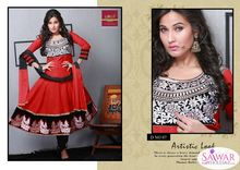 Designer Salwar Kameez Indian Partywear Costume Bollywood Readymade Anarkali Maroon