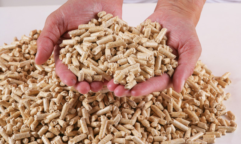 Wood pellets 6mm DIN+ certificated