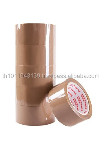 Adhesive brown packing BOPP tapes thailand
