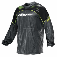 Wholesale custom mens paintball padded jersey / custom logo paintball jersey 1773