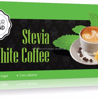 Coffee White Coffee With Stevia In