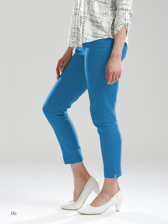 Mrigya Linen Casual Pants for Women and Ladies