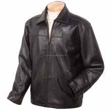 Top Quality Leather Jacket , Men's leather jacket