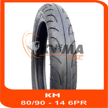 TUBE LESS MOTORCYCLE TIRE 80/90-14 6PR - MADE IN VIETNAM - HIGH QUALITY