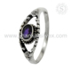 Exquisite Purple Amethyst Ring Wholesale silver jewelry 925 Sterling Silver Ring handmade Jewellery Manufacturer