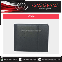 Wholesale RFID Blocking Travel Genuine Mens Leather Wallet For Sale