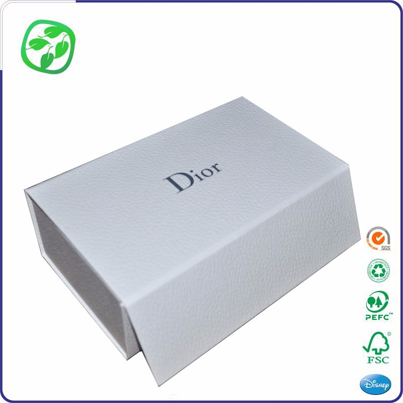packing gift box paper material, flat folding cardboard box