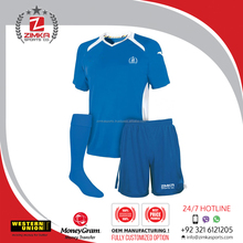 Plain soccer unifrom,High quality dry fit sublimation soccer uniform