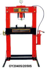 50Ton CE approved Hydraulic Shop Press with Gauge