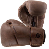 Heavy Bag Boxing Gloves - 16 oz. Brown Gloves are made from 100% full-grain genuine leather