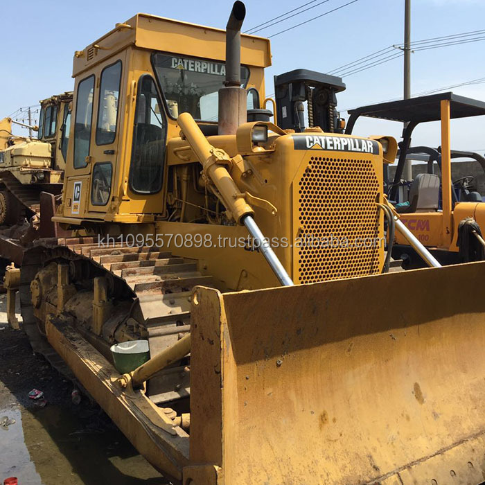 100% Japan original Caterpillar D6D crawler bulldozer for sale , cheap used CAT D6D dozers