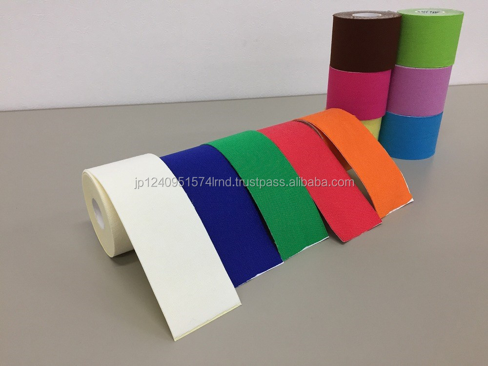 Excellent quality cotton polyurethane base fabric for taping medical instrument