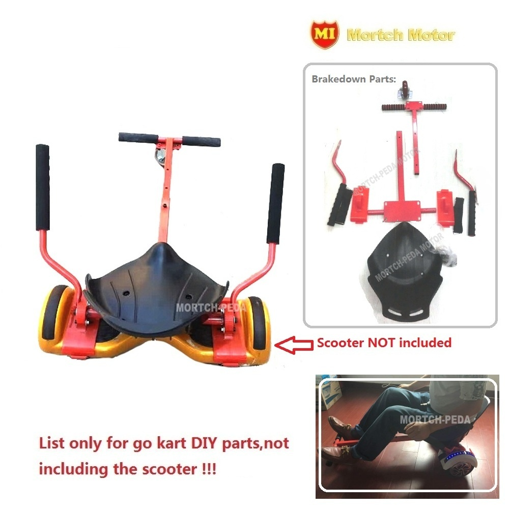 (2017 PEDA) OEM Discount Hoverkart DIY Gokart parts to modify balance scooter(Style A3)