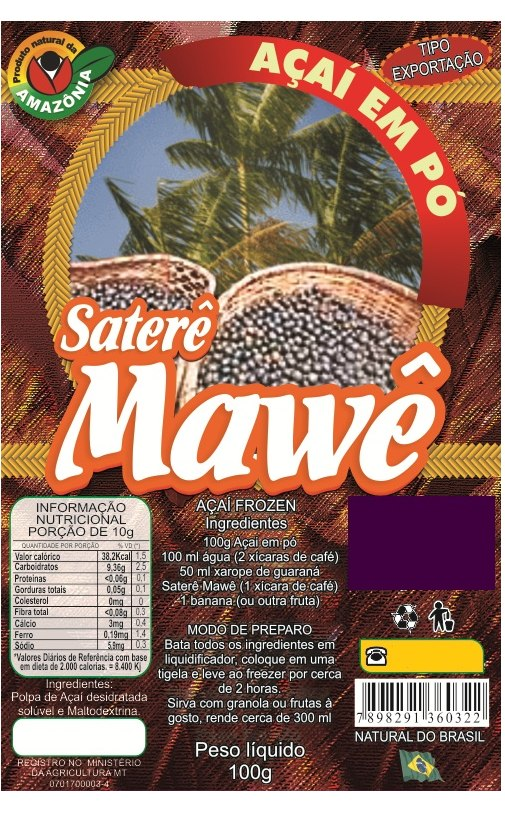 Dried Acai Powder Diet Supply - 1Kg is like 5 kg of the fruit