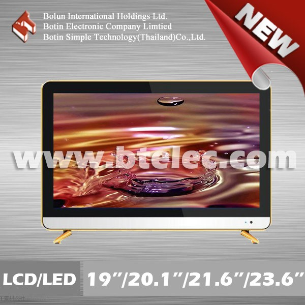 "Promotion TFT national television 22"" square LCD/LED monitor color tv"