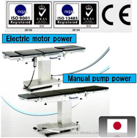 For importers of surgical instruments in Canada, CE certified Japanese operating table with cassette tray for x-ray film