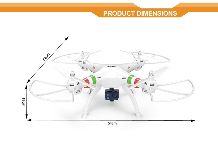 2.4G 1080P H809G rc drones and uavs remote drone helicopter