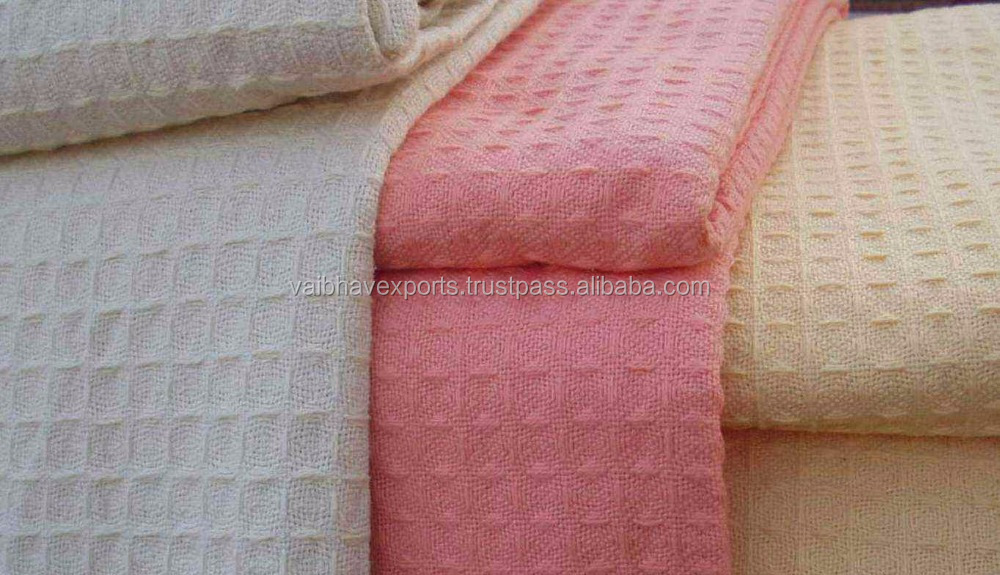 Organic Cotton Blanket made from premium cotton yarn