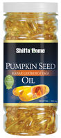 Pumpkin Seed Oil Soft Vegetable Capsule Benefits Natural Health Food Supplement for Prostate