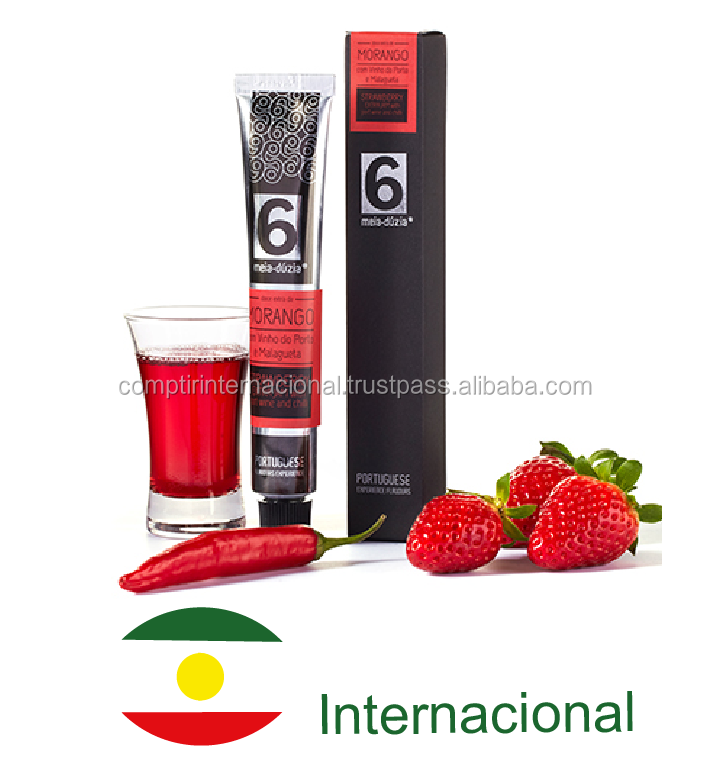Jam in a tube - STRAWBERRY WITH PORT WINE AND CHILI - Portugal