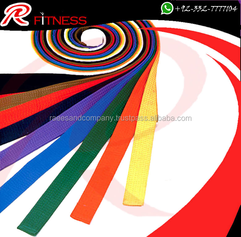 Karate Belts | Martial Arts Supplies and Boxing Gear Manufacturer | RC Fitness Wear