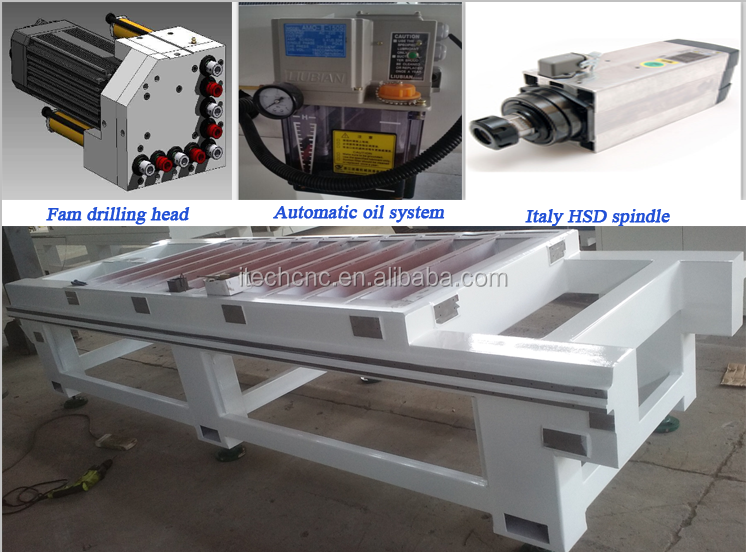 Factory price ATC CNC wood router machine 1325 / CNC router