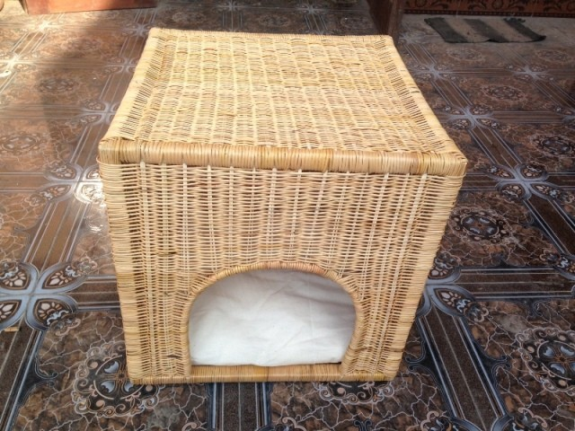Handicraft bamboo pet cage