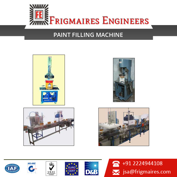 Fully Automatic Coated Paint Filling Machine for Sale at Lowest Price