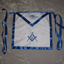 Masonic square compass blue lodge house fraternity freemason apron