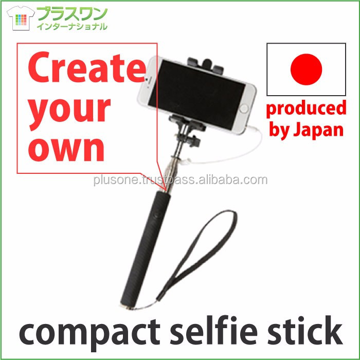 Original phone accessories mobile selfie stick with earphone jack