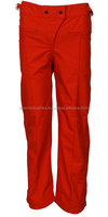 Custom red color fashion trouser