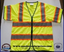Safety Vest Reflector Jacket With Reflector Tape