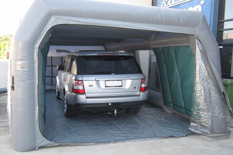 Inflatable car spray booth for car show , inflatable garage spray booth