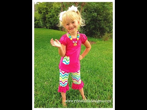 Cute Little Girl Clothes - Rylee Faith Designs Boutique Stylish designer girls clothes?